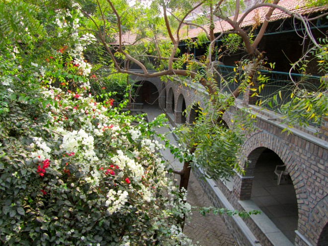 The Meher Pilgrim Center in Ahmednagar, India.