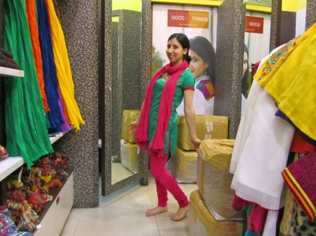india clothes me