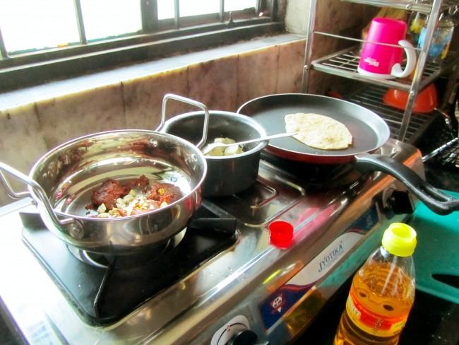 paneer cooking