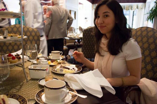 Tea time at the Washington Duke Inn