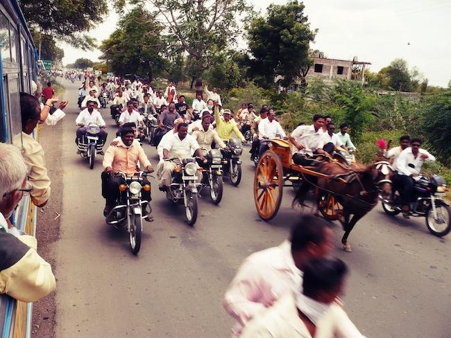 bike procession