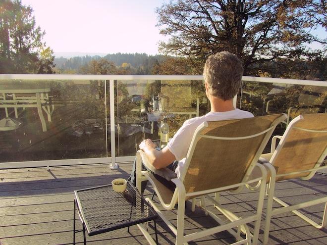 deck sunset wine1