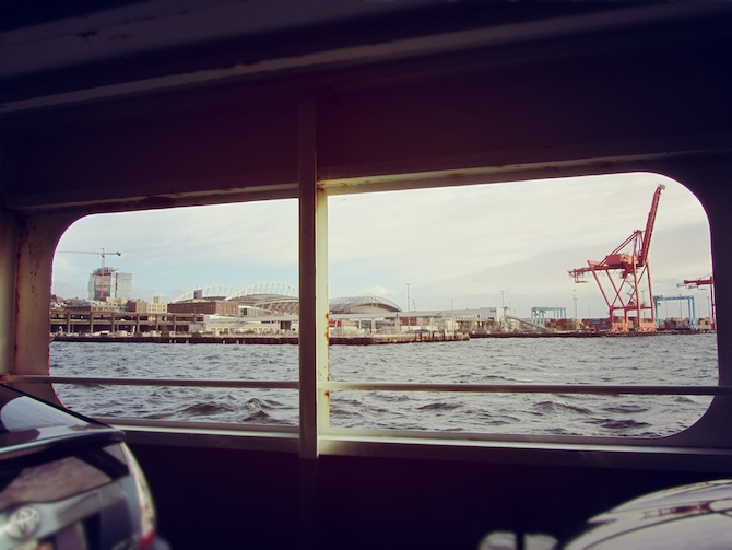 ferry to seattle
