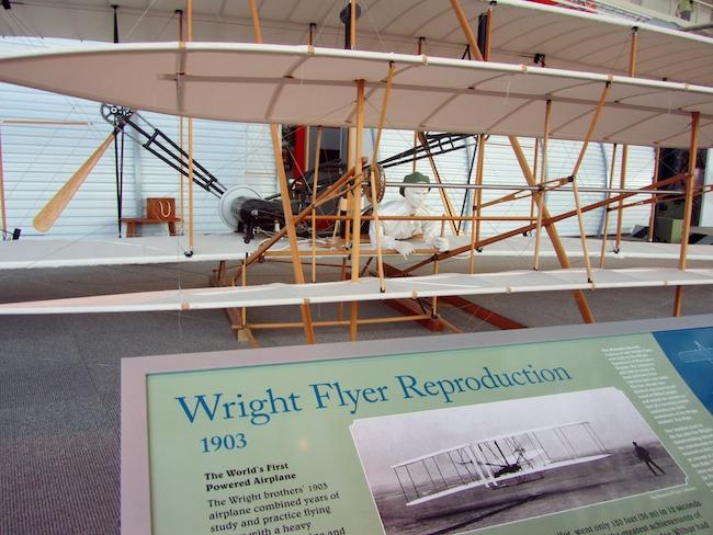 wright flyer replica