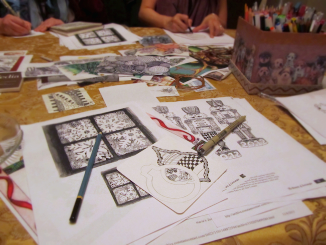 zentangle meetup