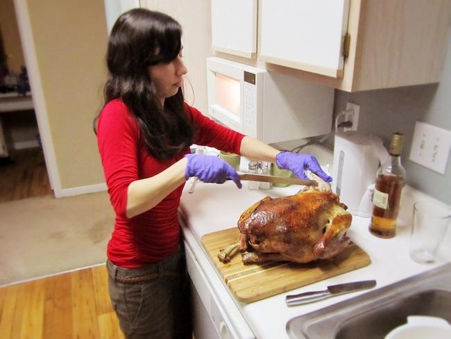 My first turkey. (2011)