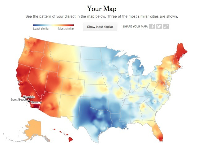 dialect map usa