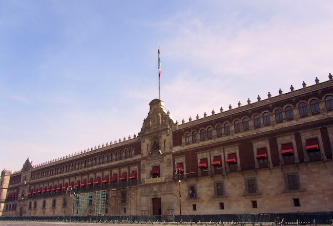 palacio nacional mexico city