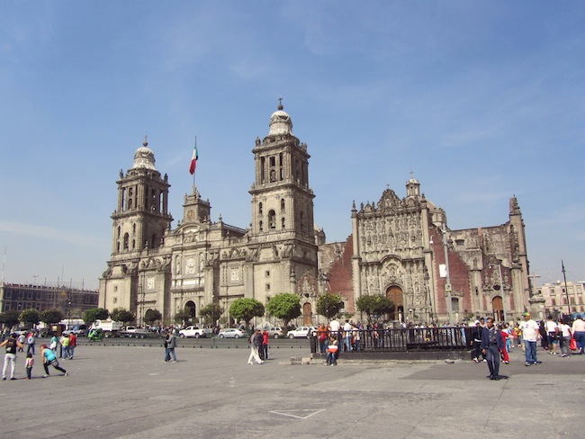 zocalo mexico city