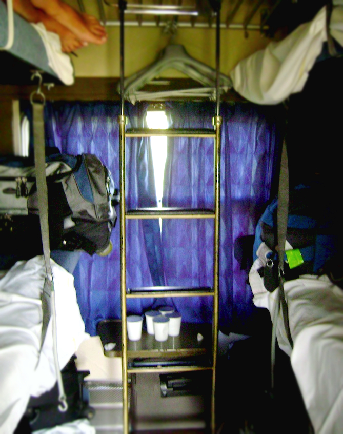 europe train bed