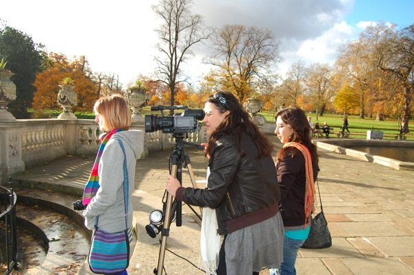 filming hyde park london