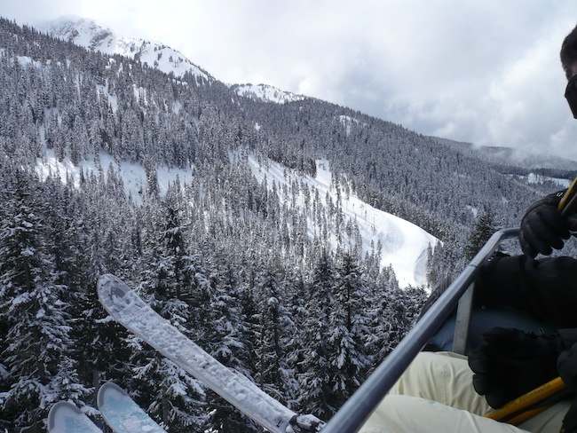 whistler canada snow