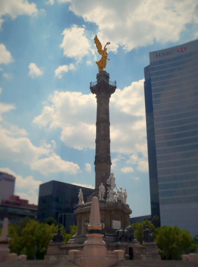 "The ""angel de la independencia"", Mexico City"