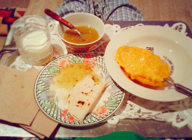 food mango dinner