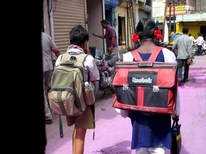 india street children