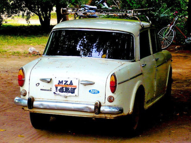 Old car in India