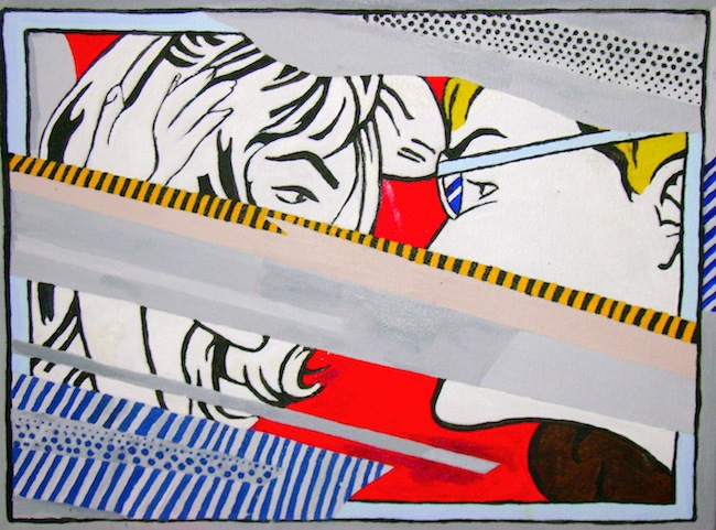 One of my Lichtenstein reproductions.
