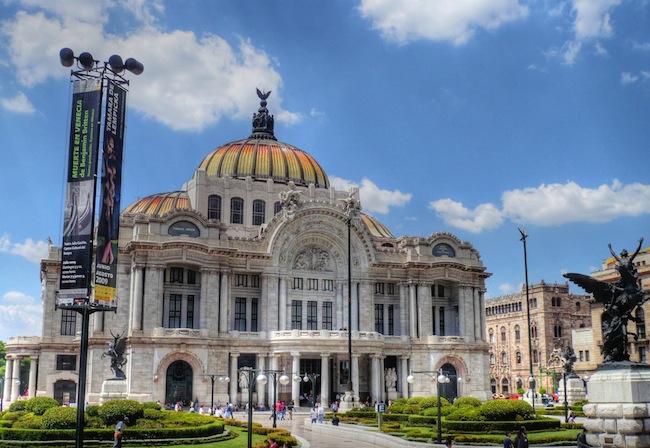 Palacio de Bellas Artes, Mexico City