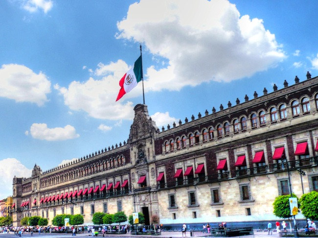 Palacio Nacional, Zocalo, Mexico City