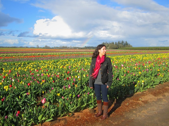tulip farm oregon me