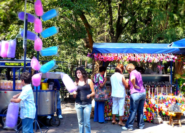 capultepec castle mexico city candy
