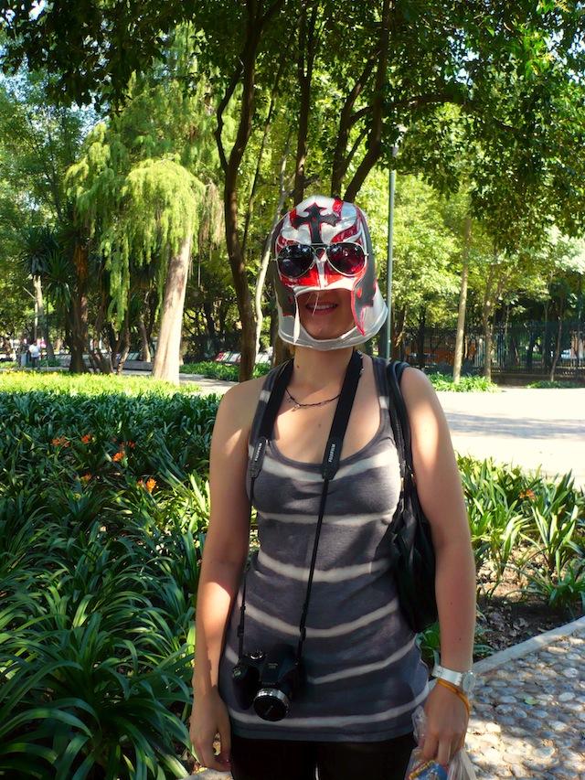 chapultepec castle mexico city mask