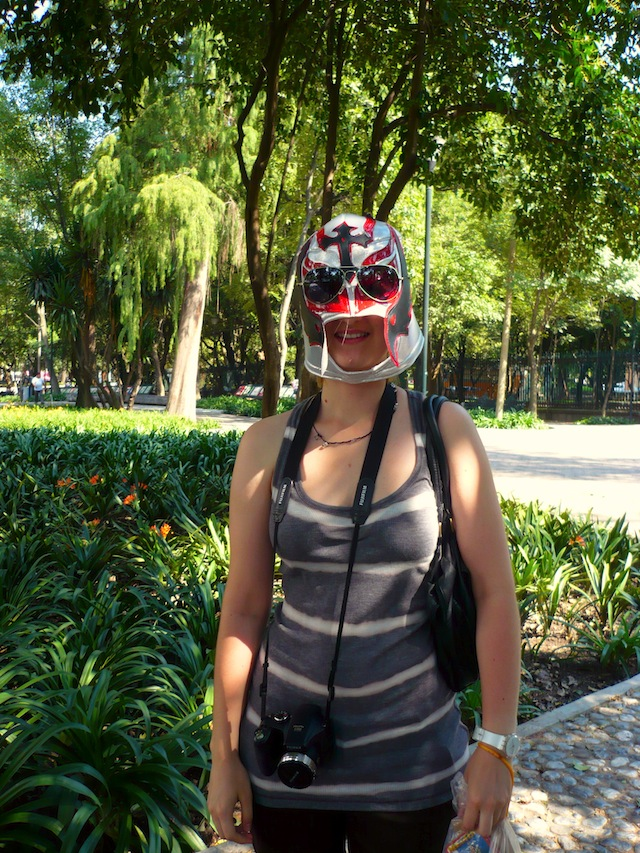chapultepec castle mexico city mask
