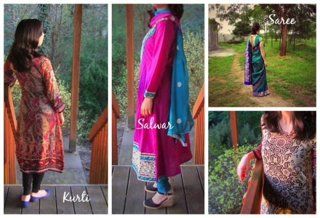 indian women clothing triveni collage