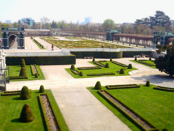 vienna Schonbrunn Palace gardens
