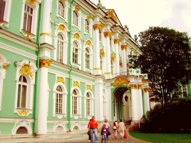 Winter Palace, Saint Petersburg, Russia