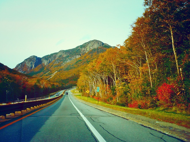 Heading to Cannon Mountain, NH