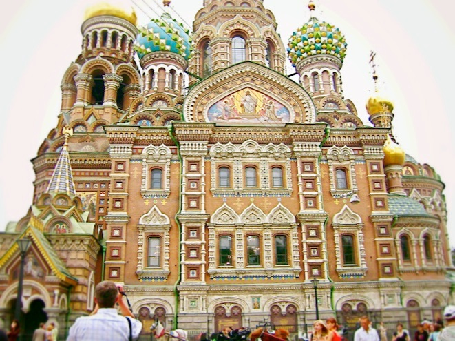Cathedral of the Resurrection of Christ, Saint Petersburg.