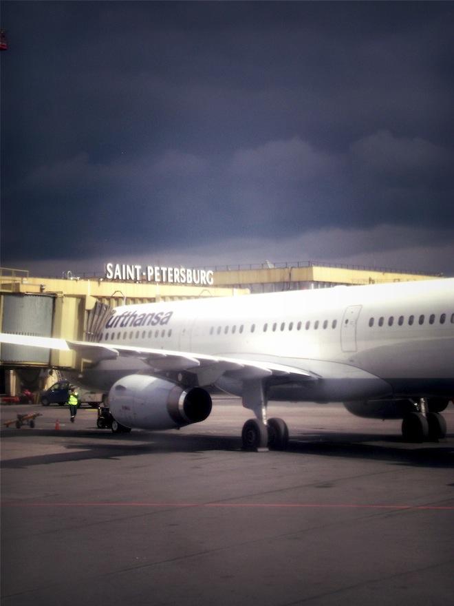 Saint Petersburg airport
