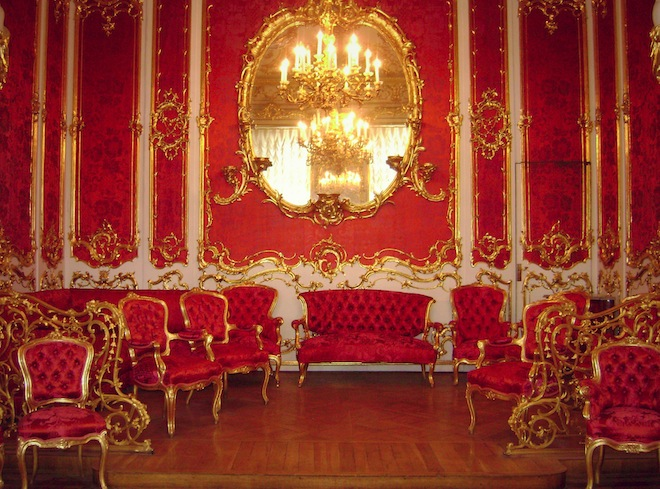 A room inside the Hermitage.