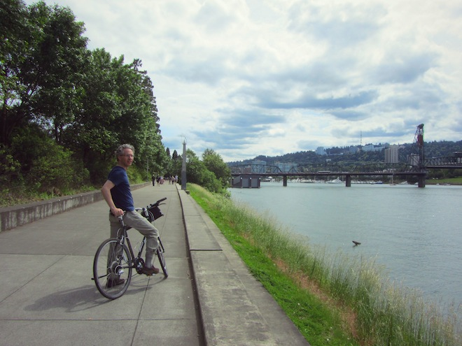 portand waterfront bikes josh