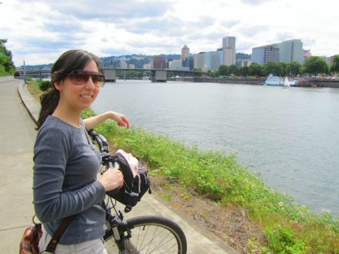 portland downtown bikes