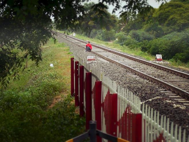 train tracks india
