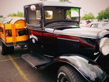 Jack Daniels prohibition truck.