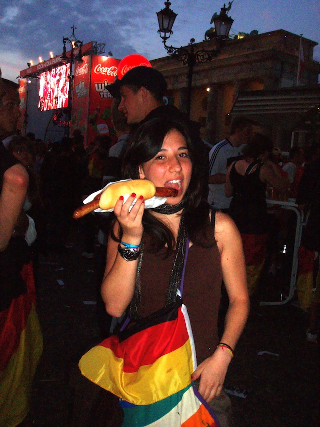 Bratwurst in Berlin