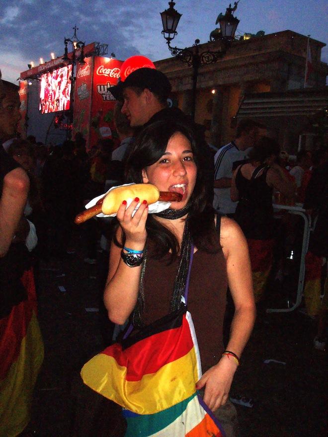 Bratwurst in Berlin