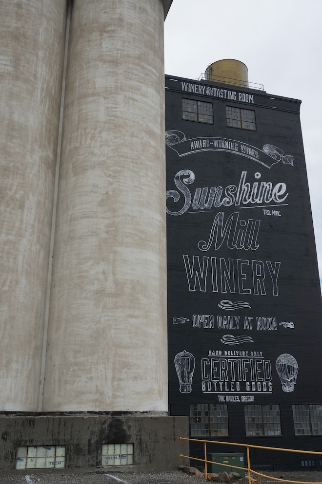 Sunshine Mill Winery, The Dalles, OR