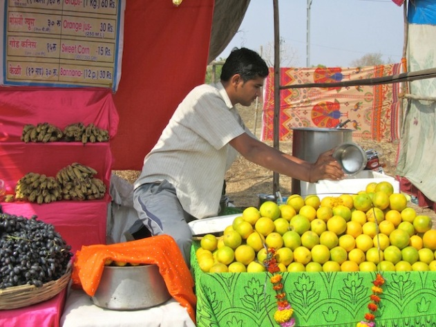 While you're at it, why not get some fresh orange juice too?