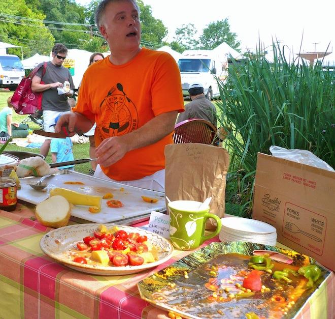 tomato tasting farmers market durham nc