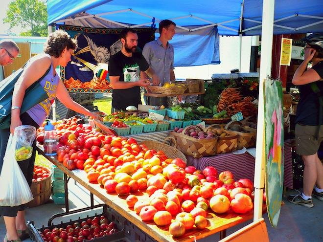 tomato tasting farmers market durham nc8