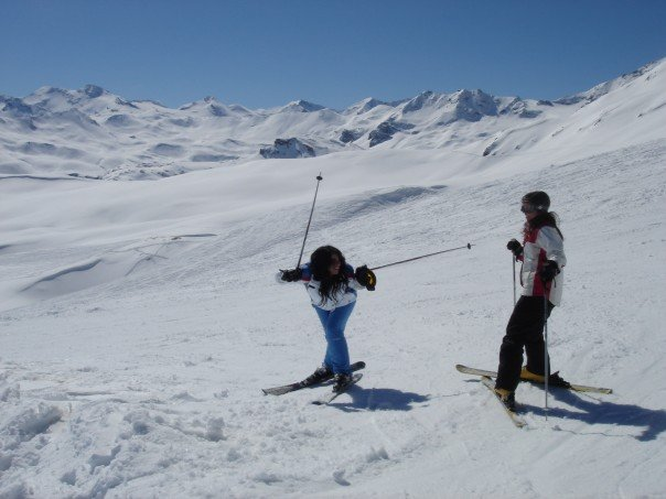 val disere skiing france