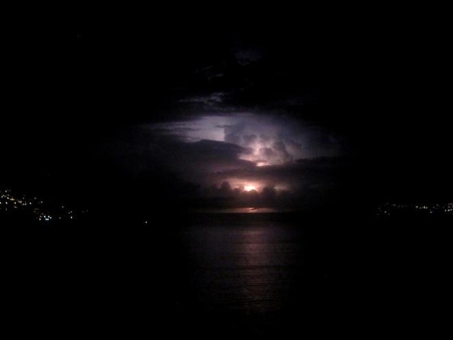 acapulco mexico beach storm