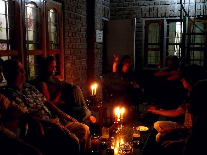 india gathering night