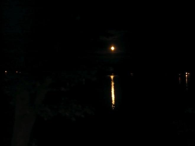 moon night new hampshire laconia