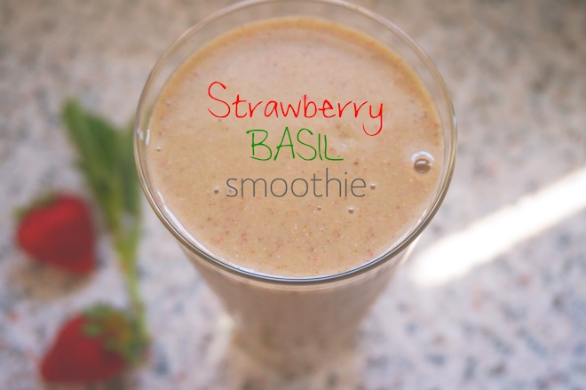 strawberry basil smoothie2