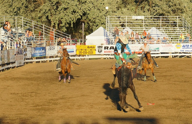 the dalles oregon rodeo22